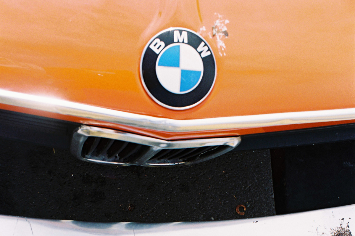 BMW Orange Colorado