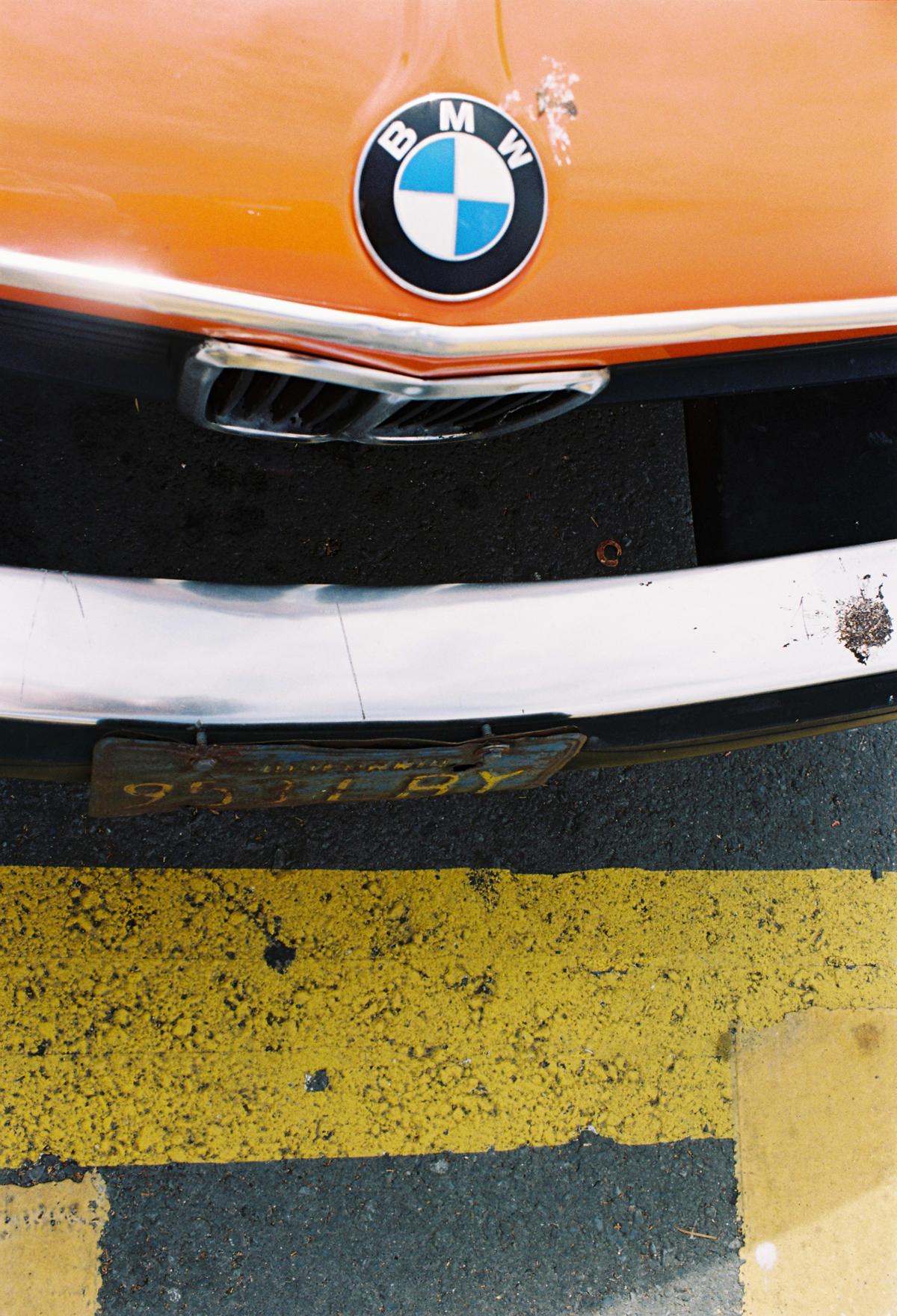 BMW Orange Colorado