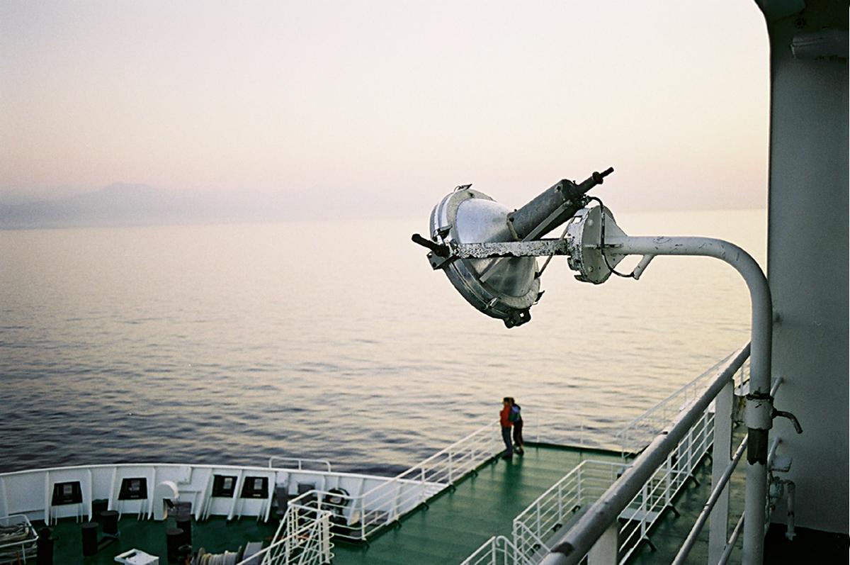 Car-ferry Corse, 16 août 2002 , 6 h…