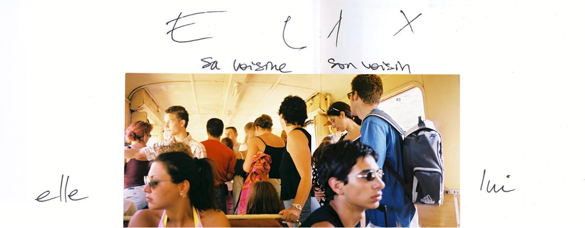 Carnet de voyage, train de la Balagne en Corse