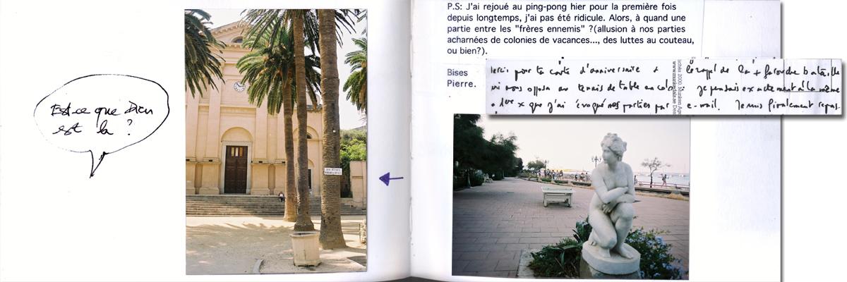 Carnet de voyage, Ile Rousse en Corse