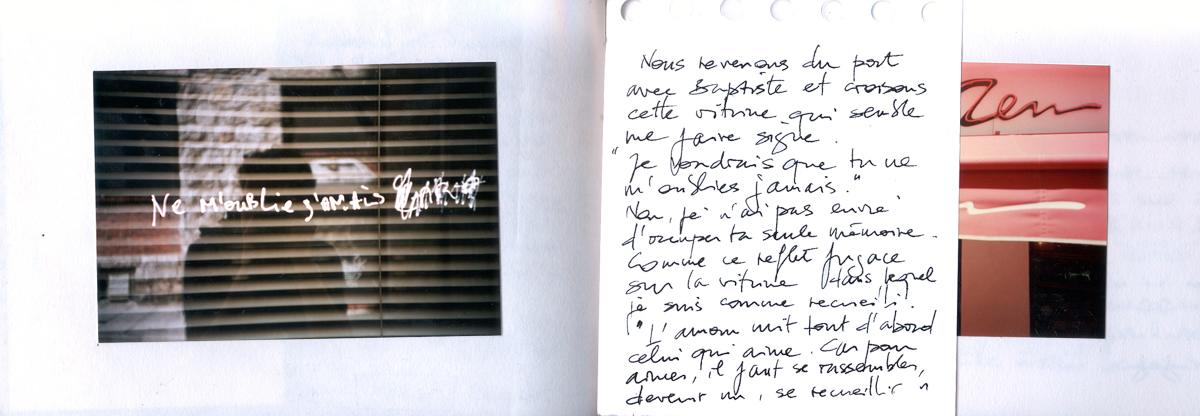 Carnet de voyage, nostalgie à Nice