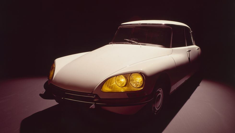 Citroën DS par Robert Delpire