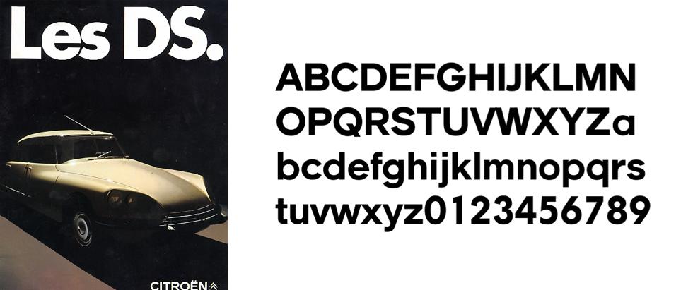 Alphabet Citroën par Robert Delpire