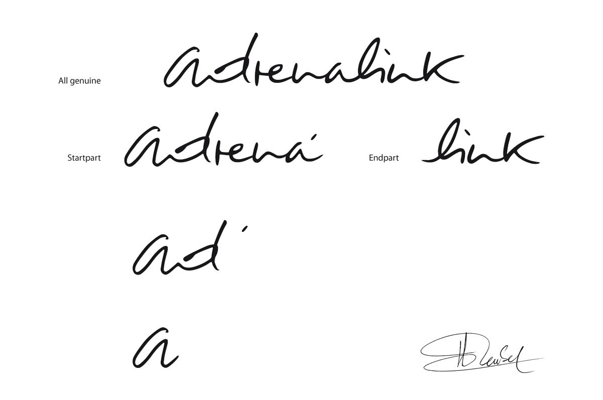 Etude logotype adrenalink