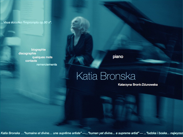 Katia Bronska, pianiste virtuose