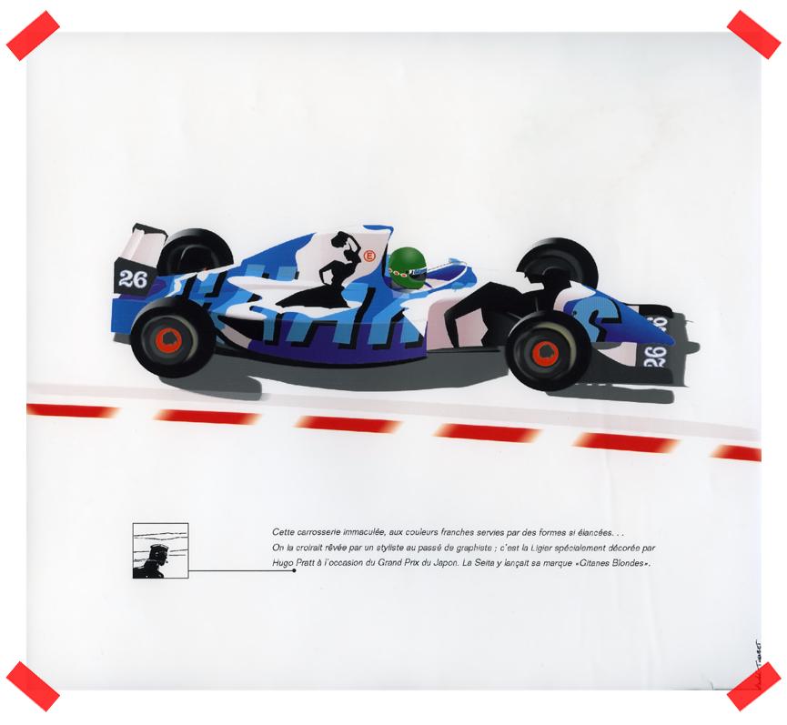 Ligier covered by Hugo Pratt